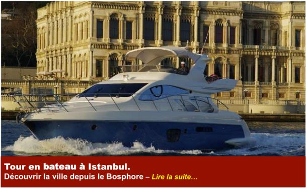 Dans les choses à faire lors de votre séjour à Istanbul vous ne pouvez pas passer à côté de faire un tour en bateau sur le Bosphore.