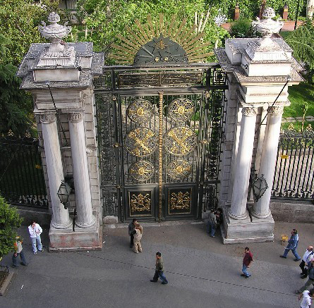 The gate of the Galatasaray High School