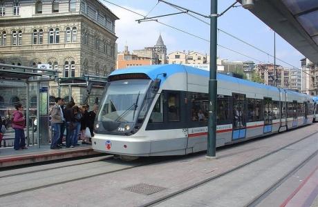 Tramway à Istanbul