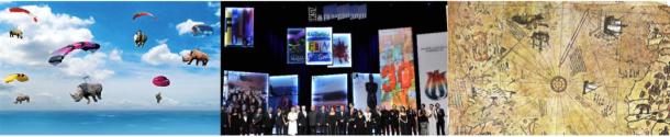 Artbosphorus, Istanbul film festival et la carte legendaire de Piri Reis