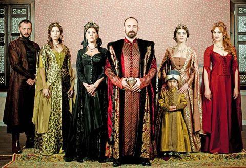 Les acteurs de Muhteşem Yüzyıl
