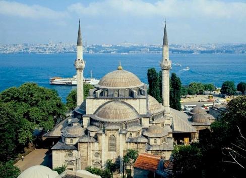 La mosquée Mihrimah Sultan